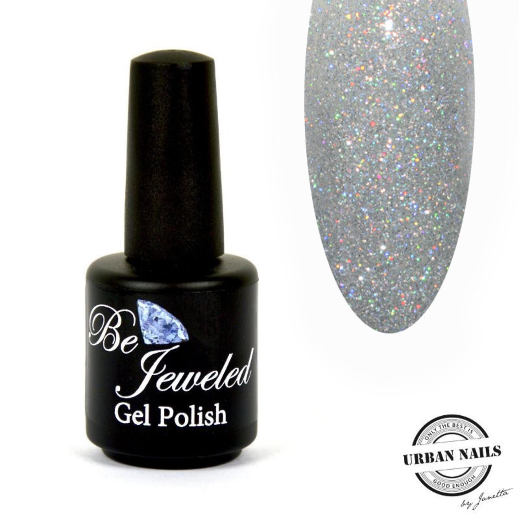 Urban Nails Be Jeweled Gelpolish 180 180 Holo Zilver Glitter