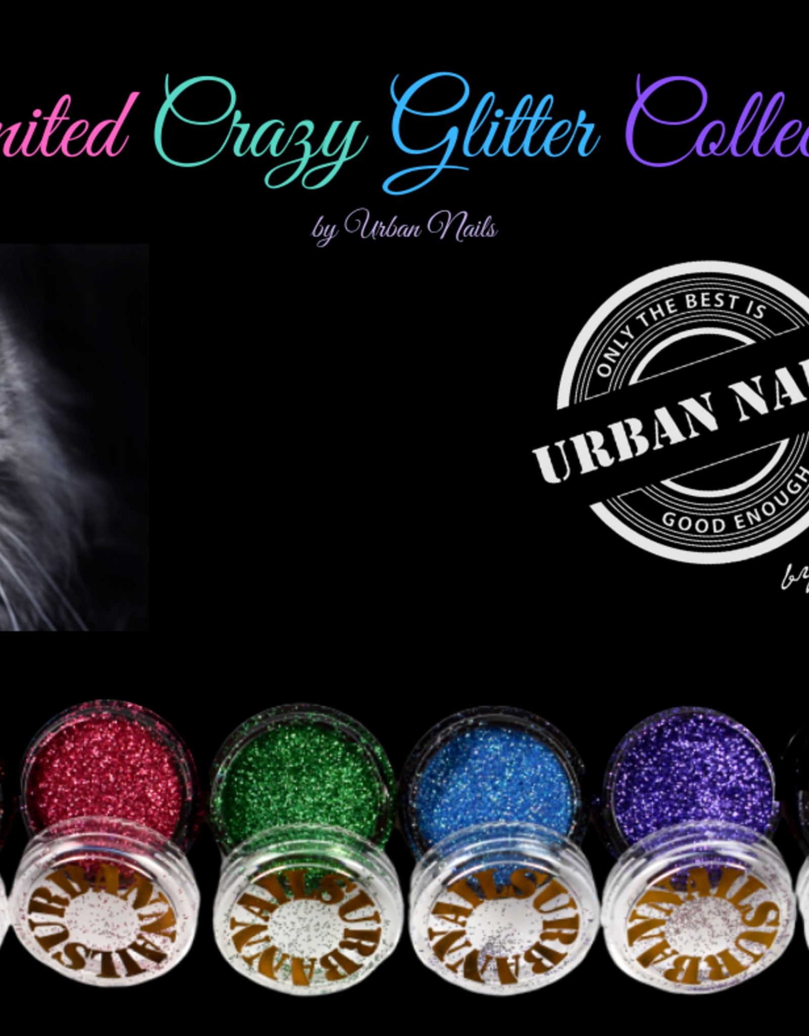 Urban Nails Limited Crazy Glitter Collection