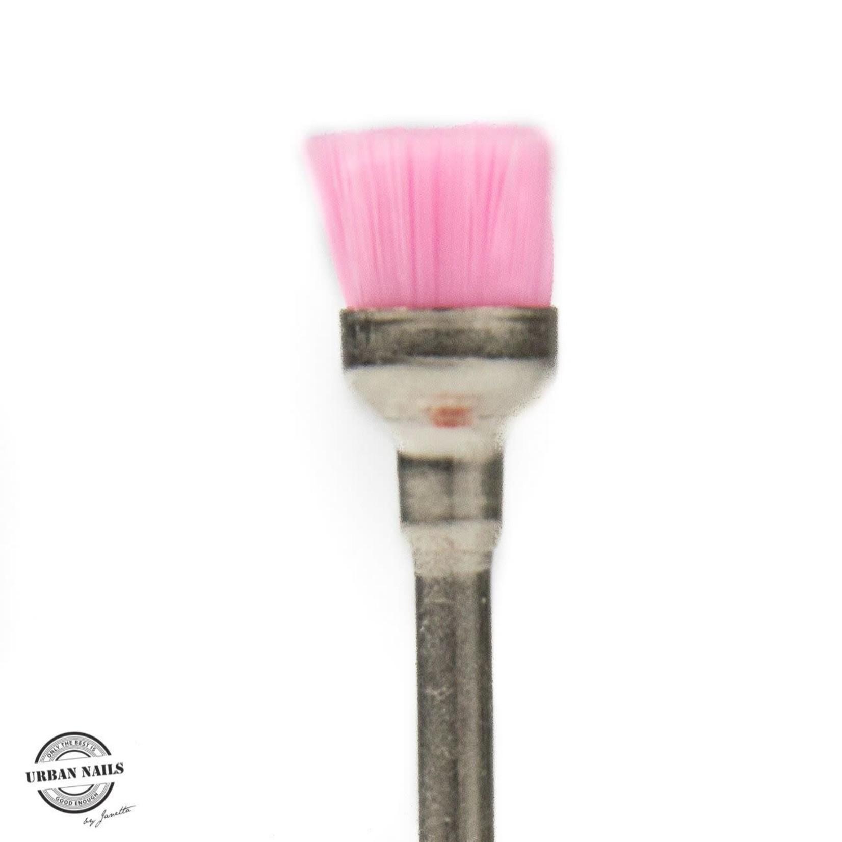 Urban Nails Cuticle Brush Pink