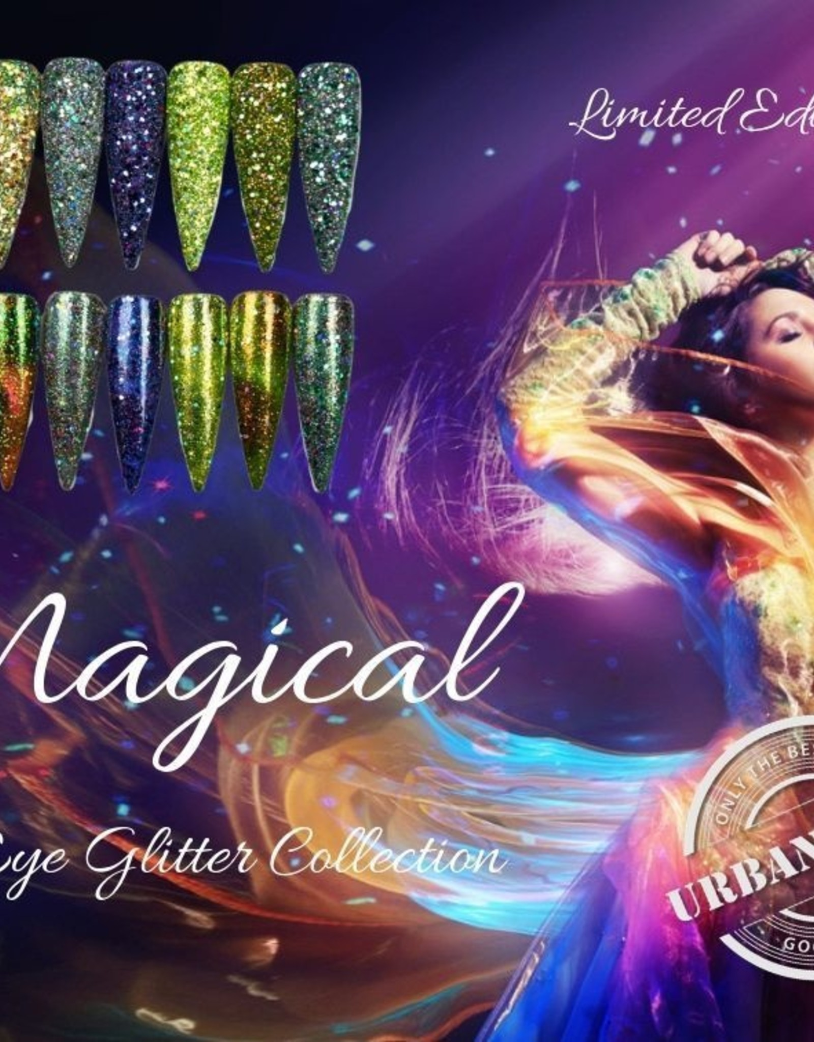 Urban Nails Magical Cat Eye Glitter Collection