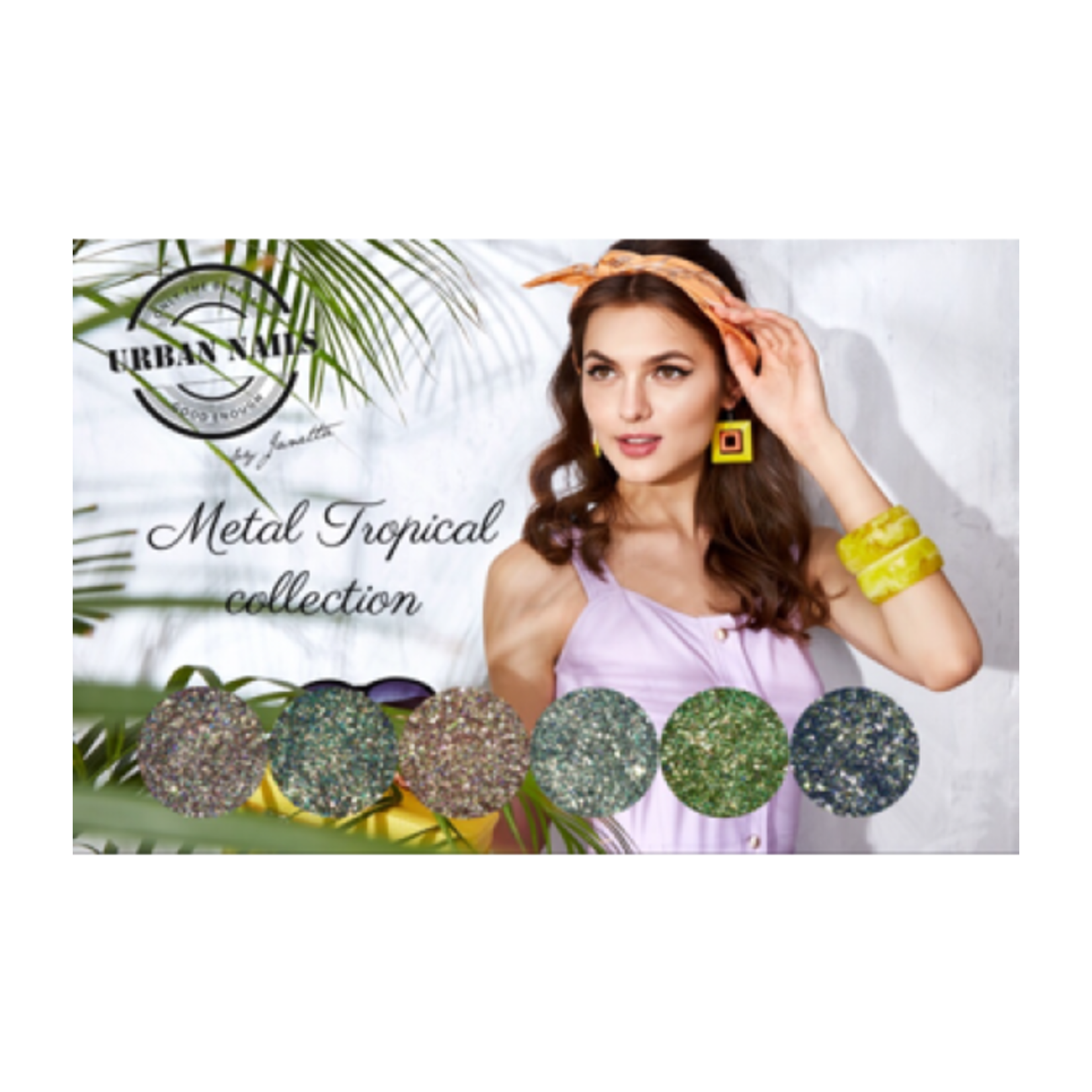 Urban Nails Metal Tropical Collection