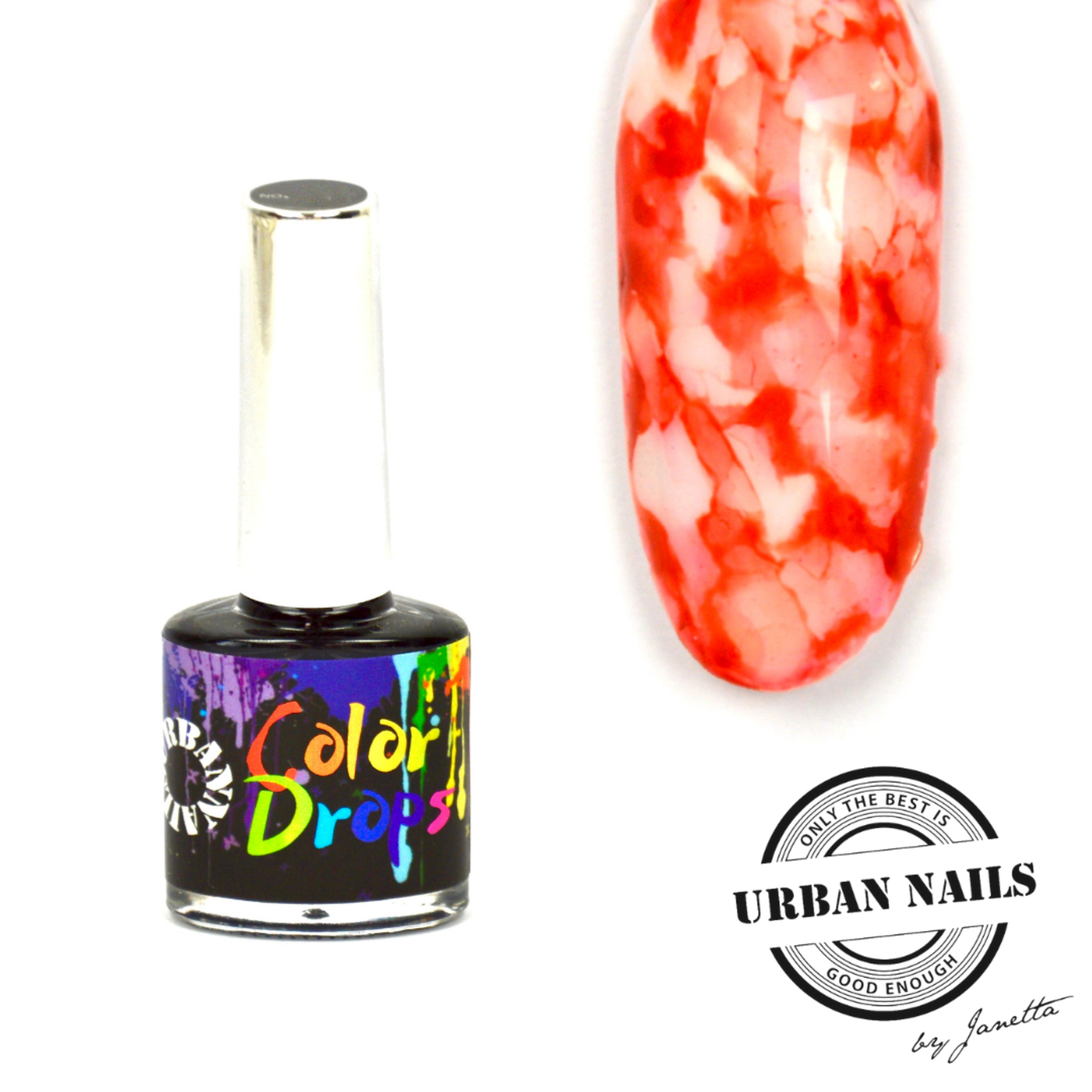 Urban Nails Color Drops 001 Rood