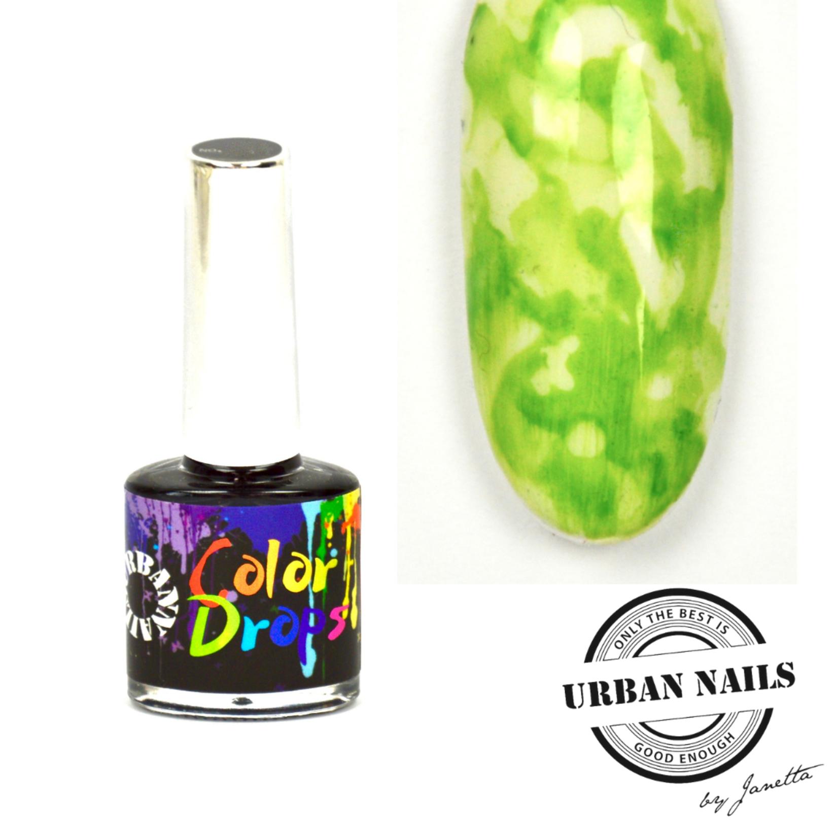 Urban Nails Color Drops 004 Groen/Geel