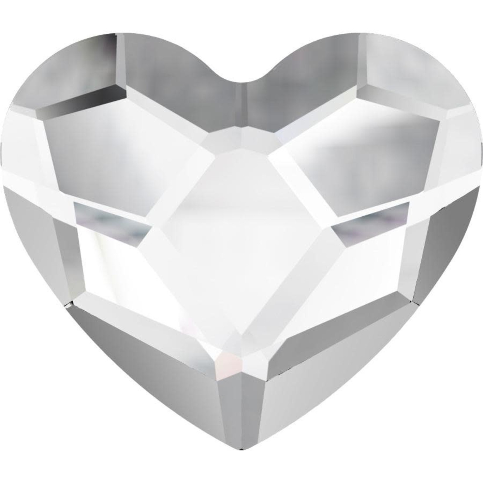 Urban Nails Heart crystal 6 mm