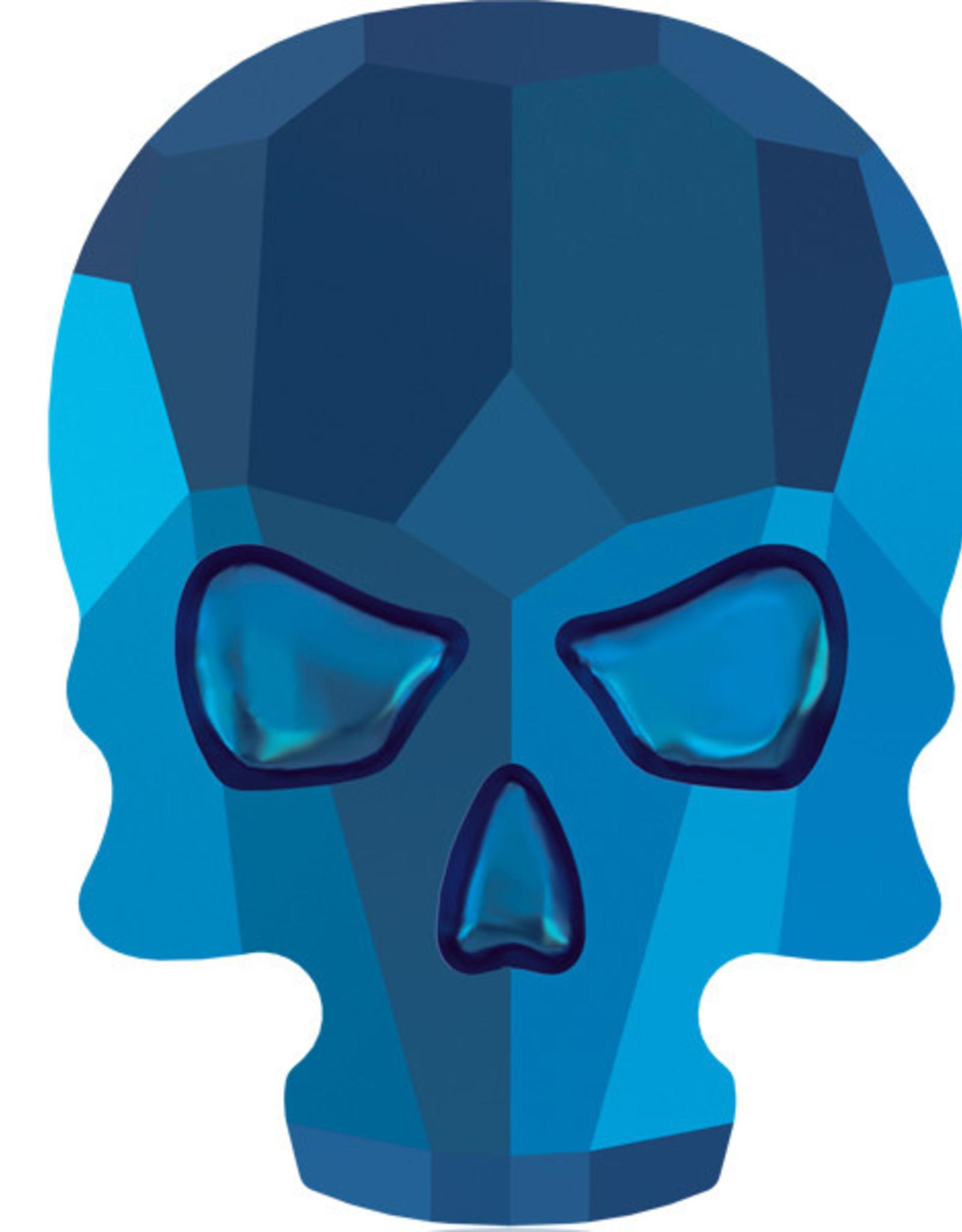 Urban Nails Skull Blue Jet