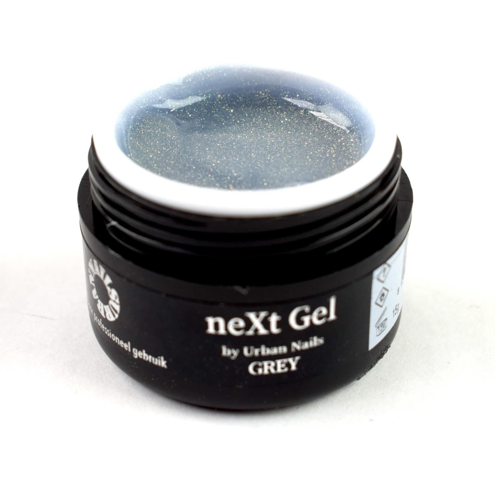 Urban Nails Next Gel Sparkle Grey