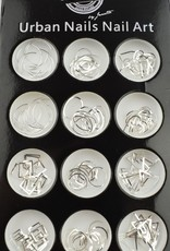 Urban Nails Charms in a box silver