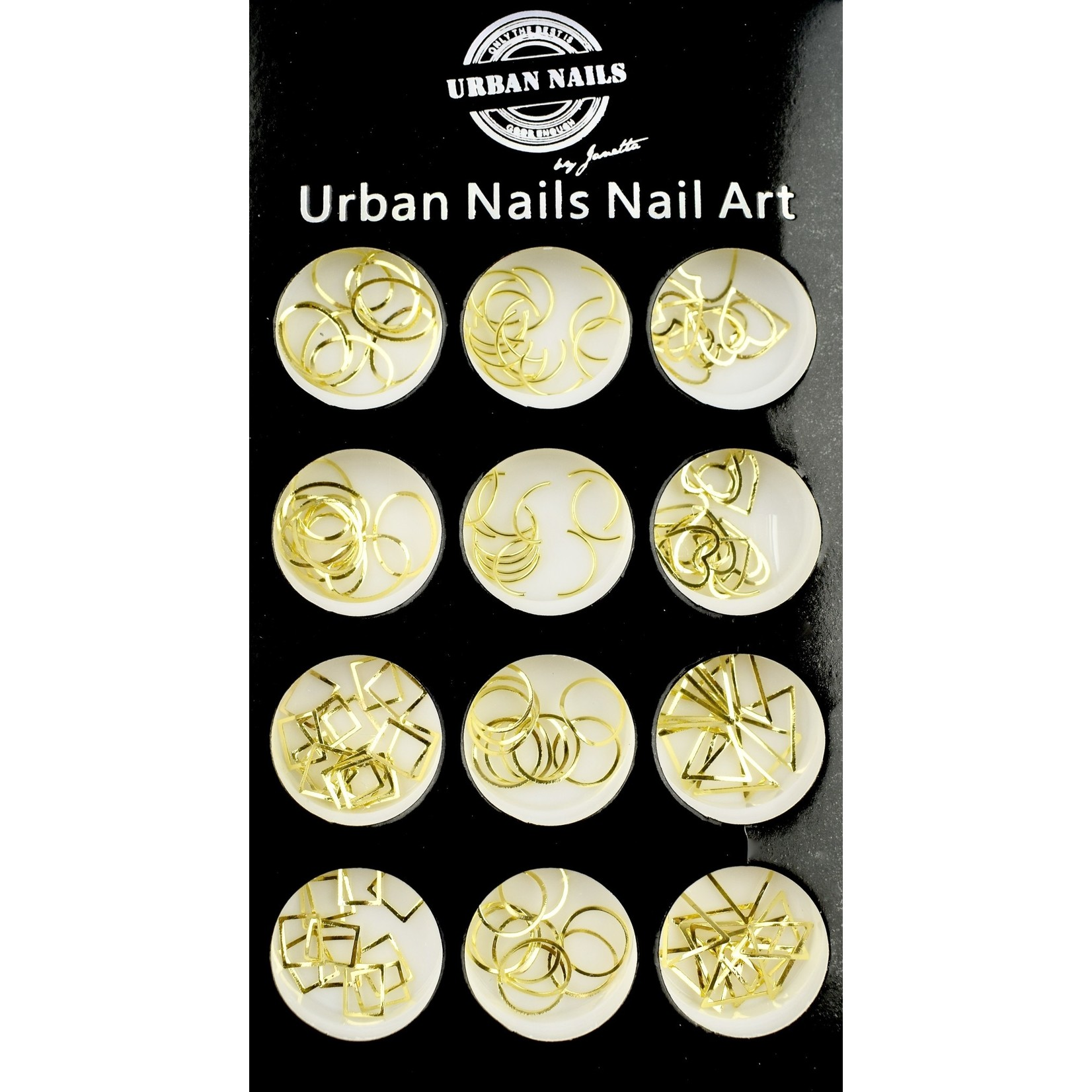 Urban Nails Charms in a box gold