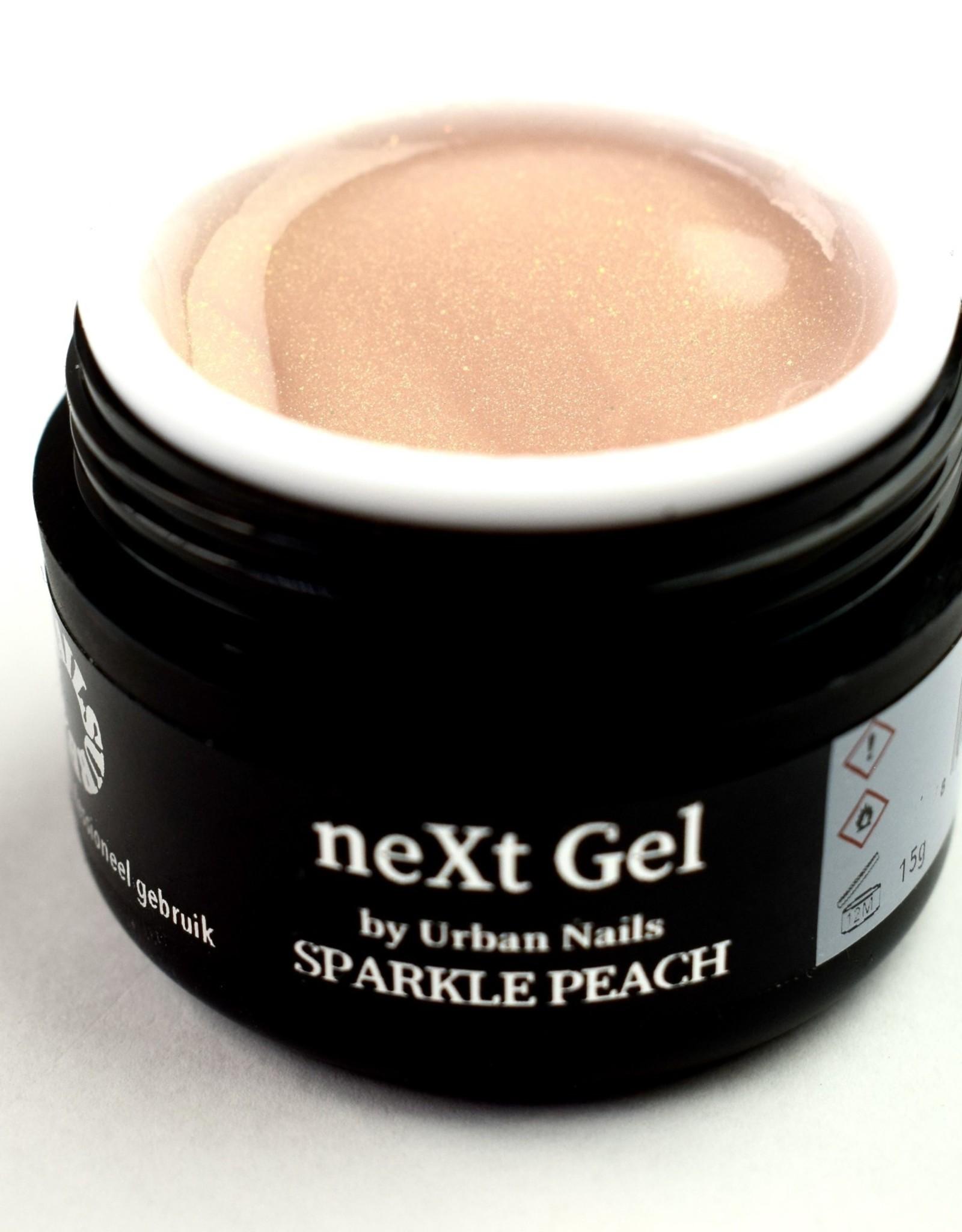 Urban Nails Next Gel Sparkle Peach