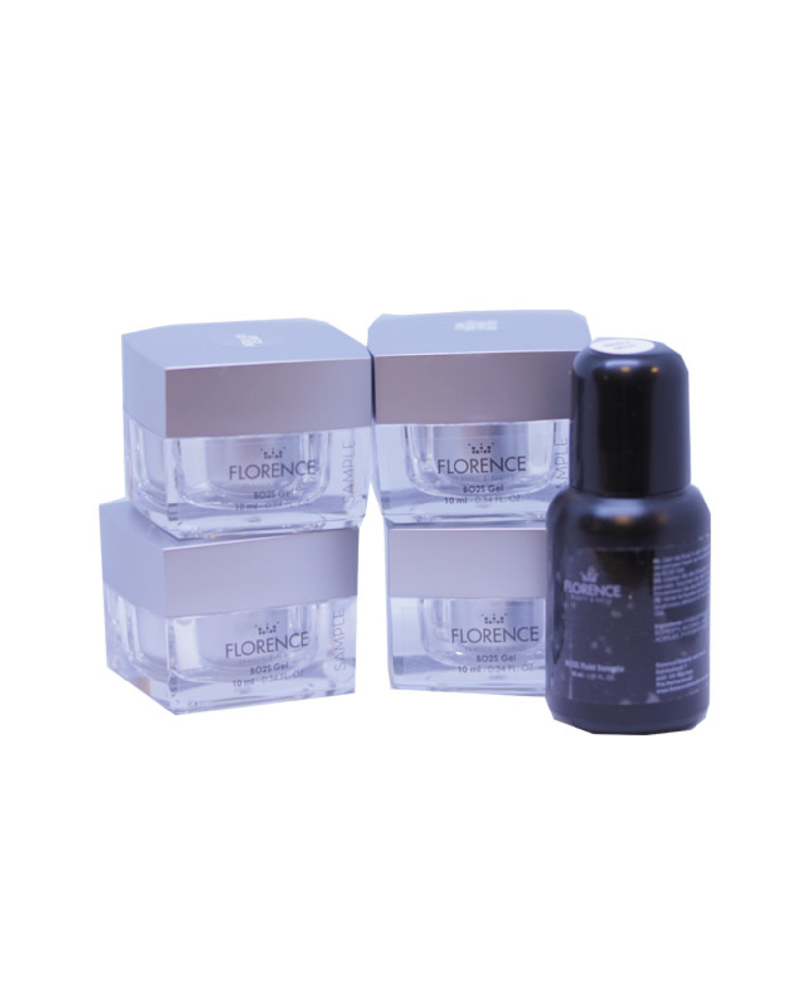 Florence Nails BO2S Gel Sample Kit (met French White)