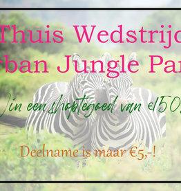 Urban Jungle Party Wedstijd