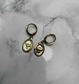 Coin bird Gold
