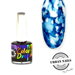Urban Nails Color Drops 007 Donker Blauw