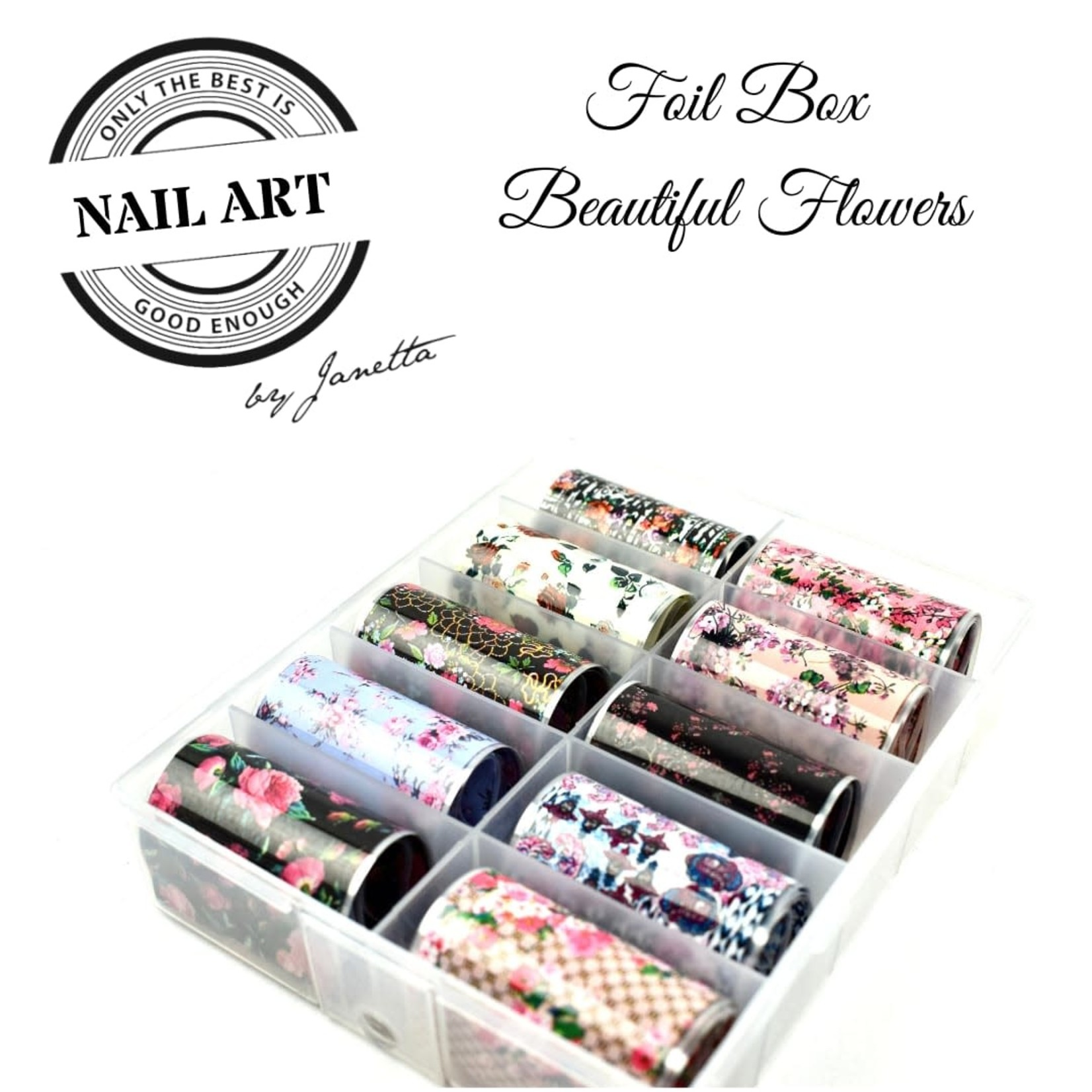 Urban Nails Foil Box Beautiful Flowers