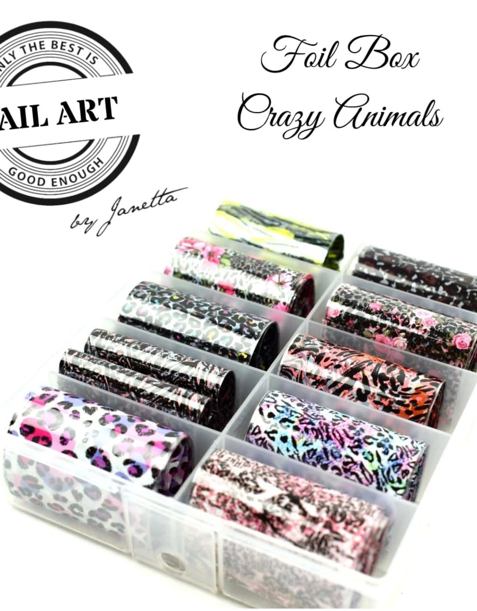 Urban Nails Crazy animals Foliebox