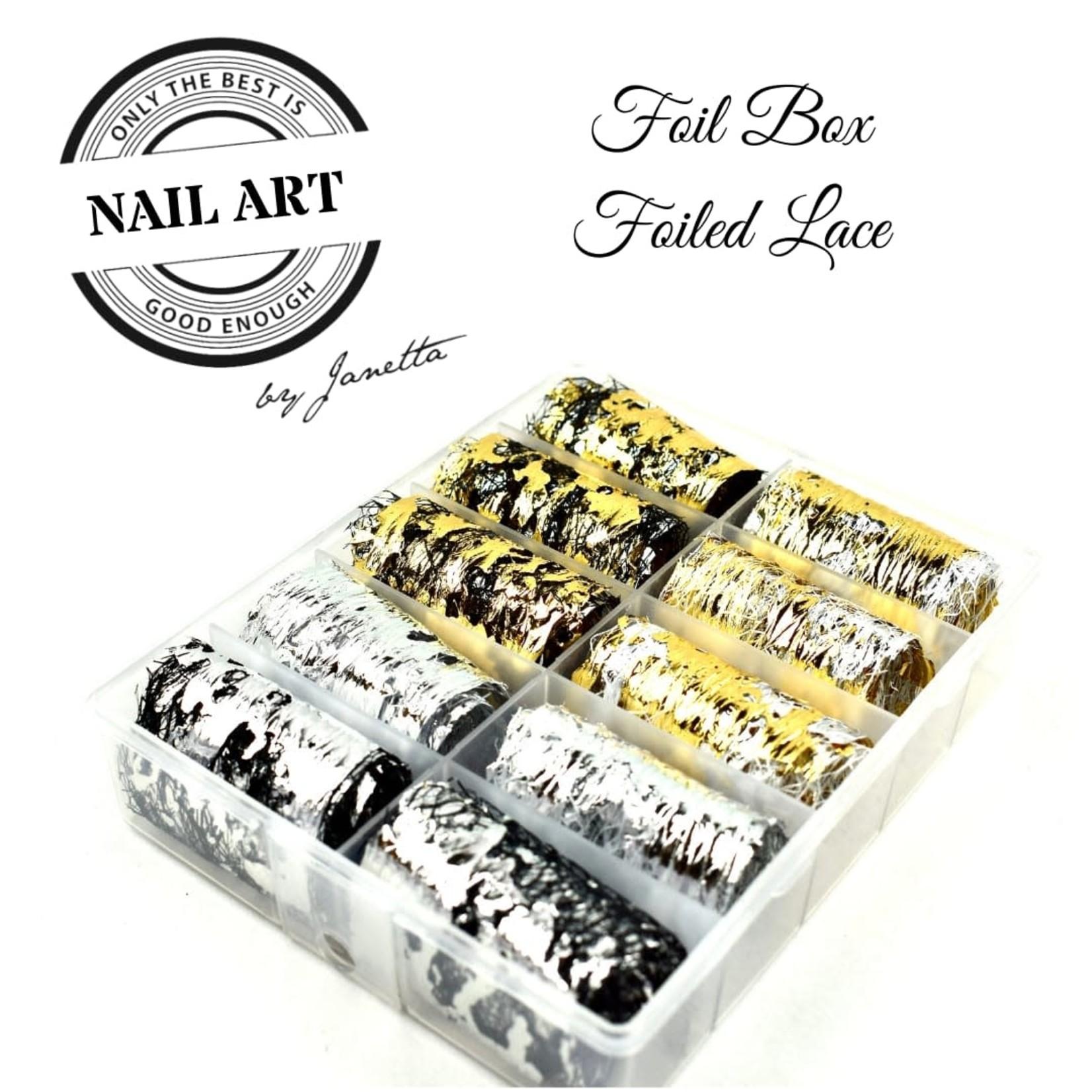 Urban Nails Foil Box foiled Lace