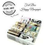 Urban Nails Foil Box Happy Newspaper