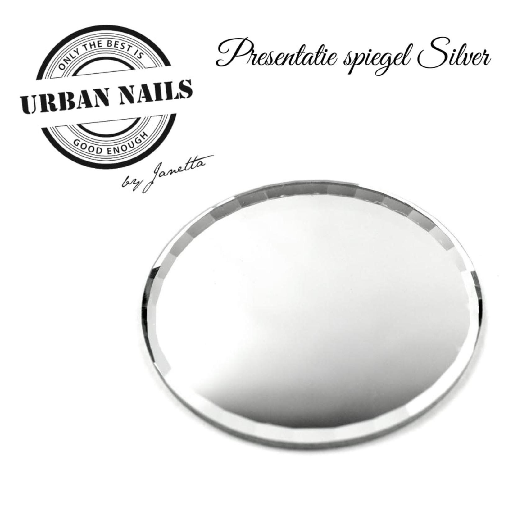 Urban Nails Presentatie Spiegel Zilver