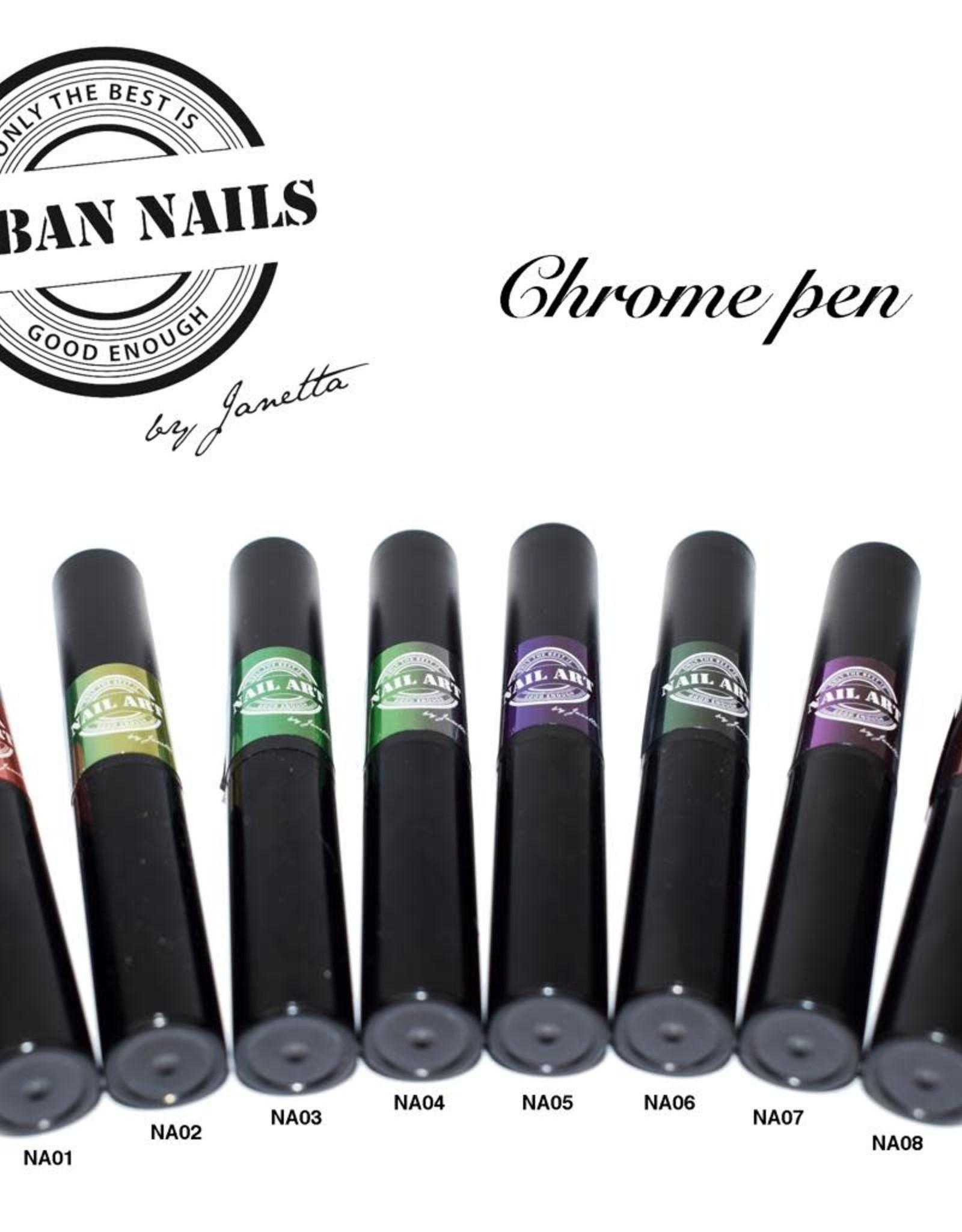 Urban Nails Chrome pen 05