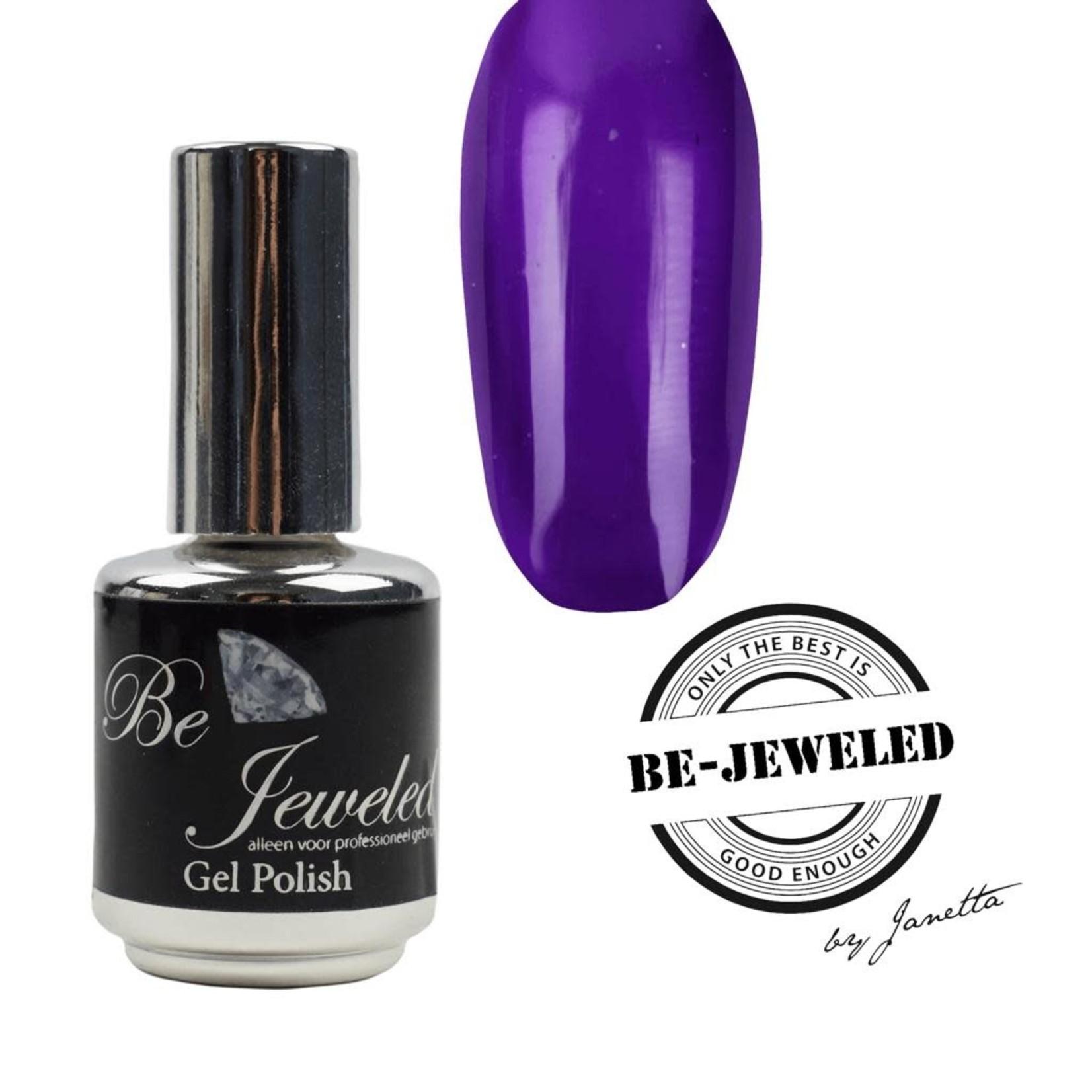 Urban Nails Be Jeweled Glass  Gelpolish 04 Paars Blauw
