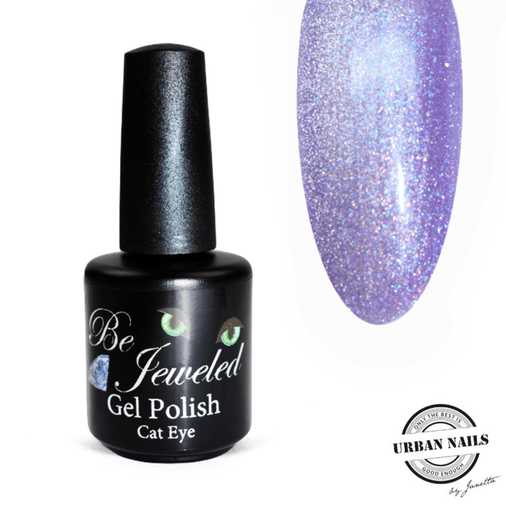 Urban Nails Be Jeweled Diamond Cateye 06 Paars