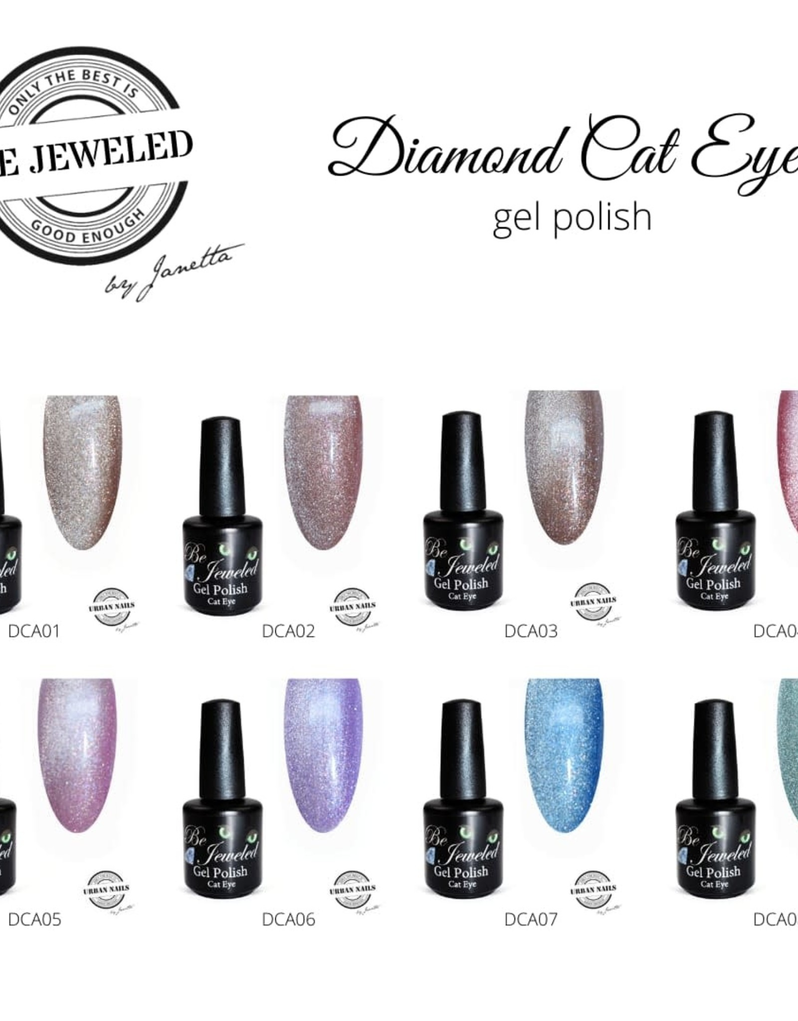 Urban Nails Be Jeweled Cateye Diamond 01
