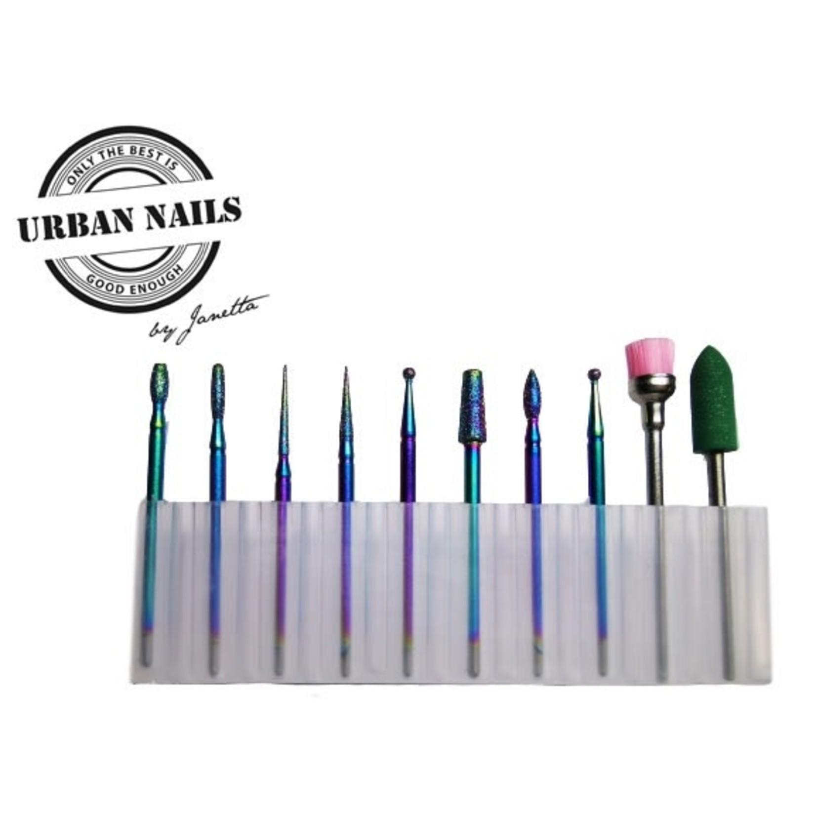 Urban Nails Manicure setje voor freesbitjes