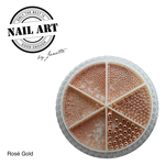 Urban Nails Wheel Caviar Rose Gold