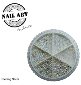 Urban Nails Wheel Caviar Sterling Silver
