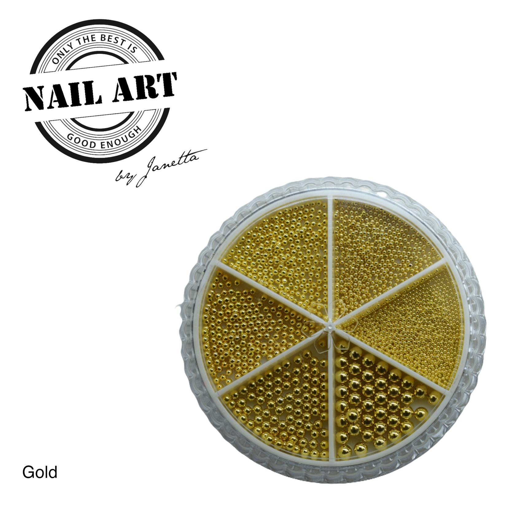 Urban Nails Wheel Caviar Gold