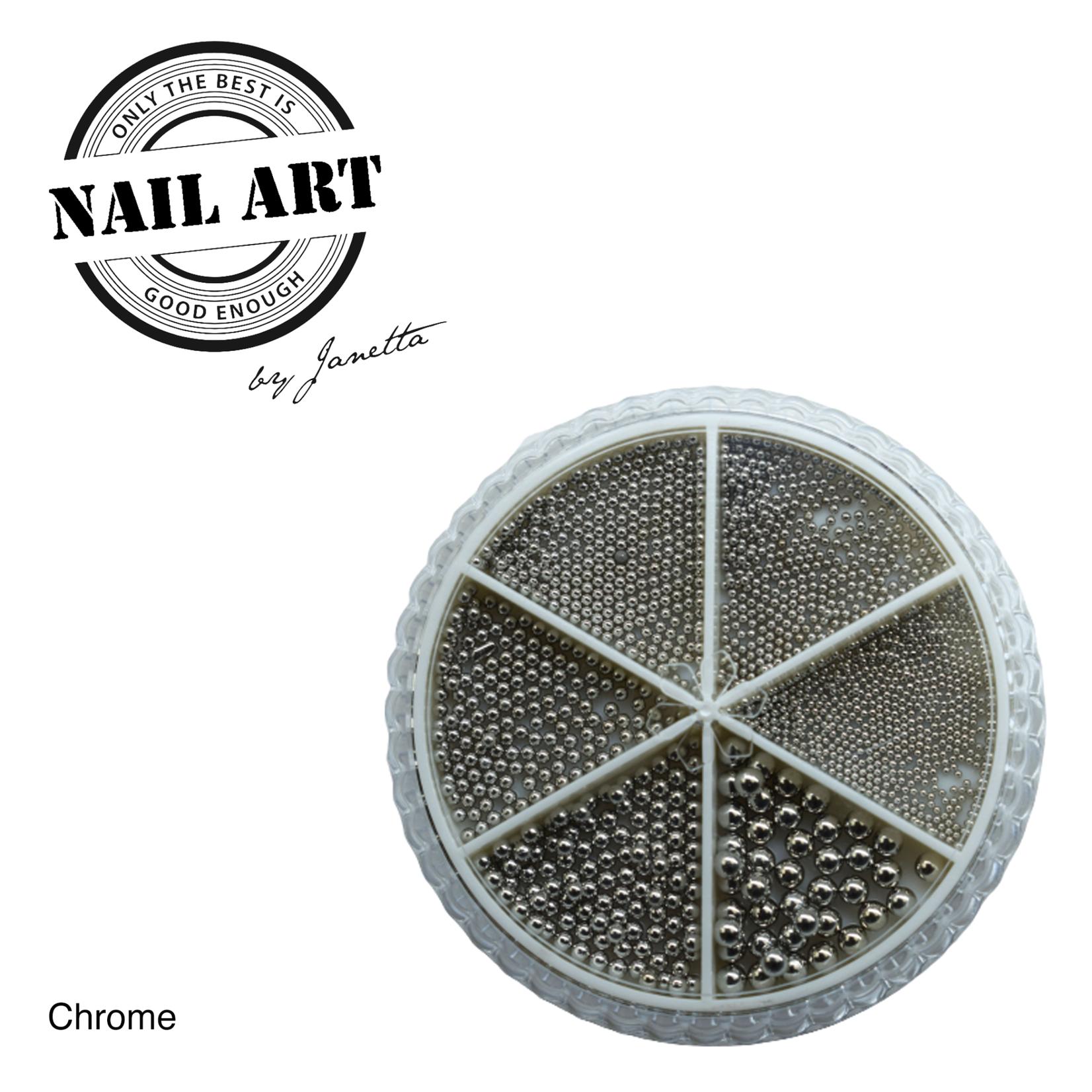 Urban Nails Wheel Caviar Chrome