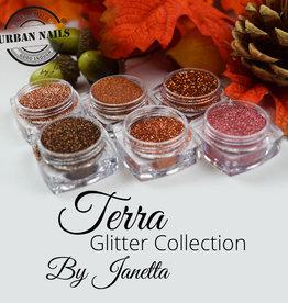 Urban Nails Glitter Collection Terra Cota