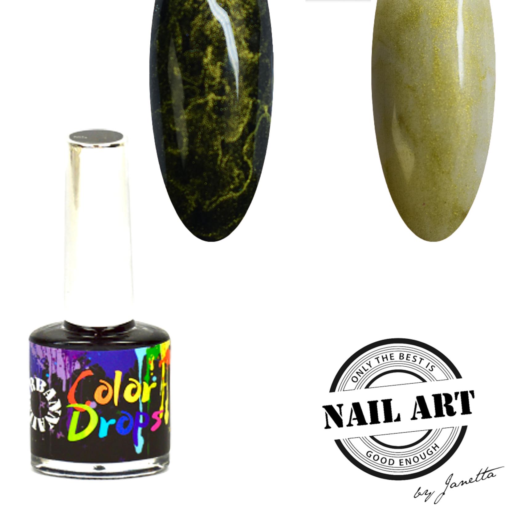 Urban Nails Color Drops 018 Goud