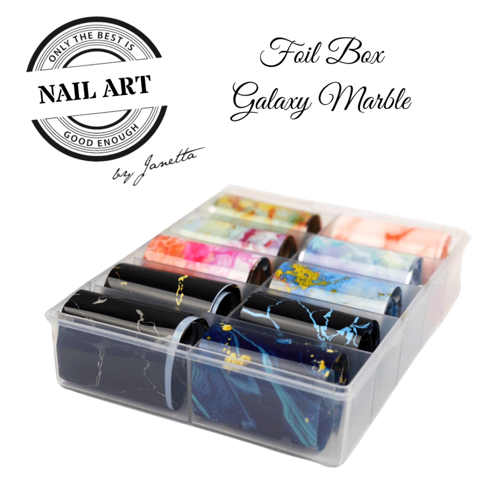 Urban Nails Foil Box Galaxy Marble