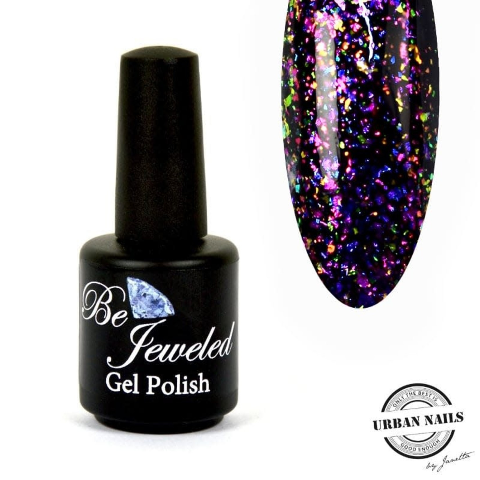 Urban Nails Glitter top gel 3