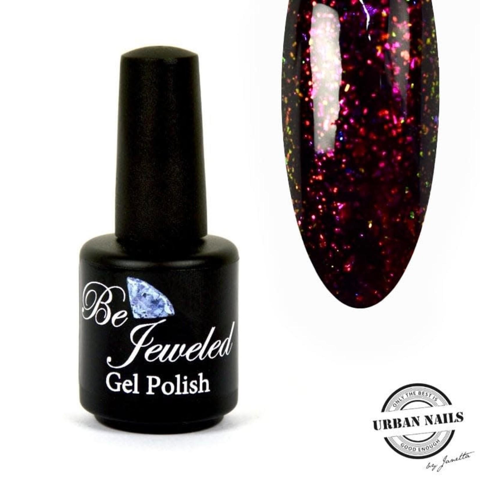 Urban Nails Glitter top gel 4