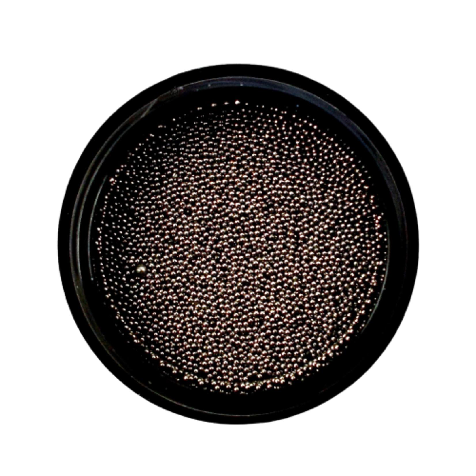 Urban Nails Caviar Beads Gun Metal Black 0.4