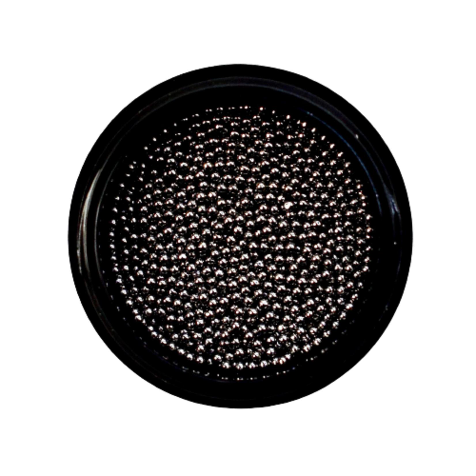 Urban Nails Caviar Beads Gun Metal Black 1.0