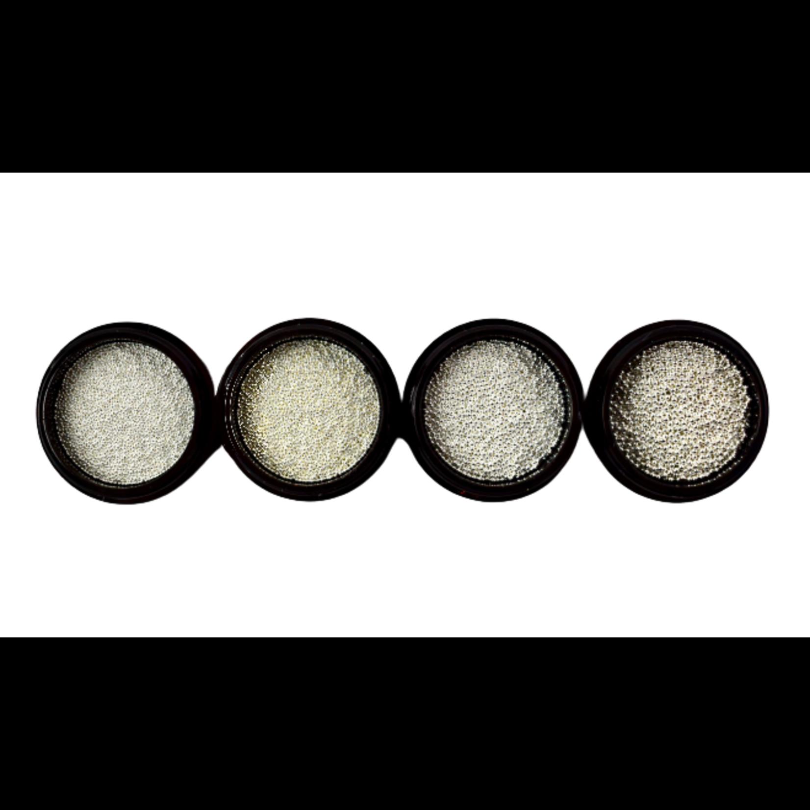 Urban Nails Caviar Beads Silver 0.8