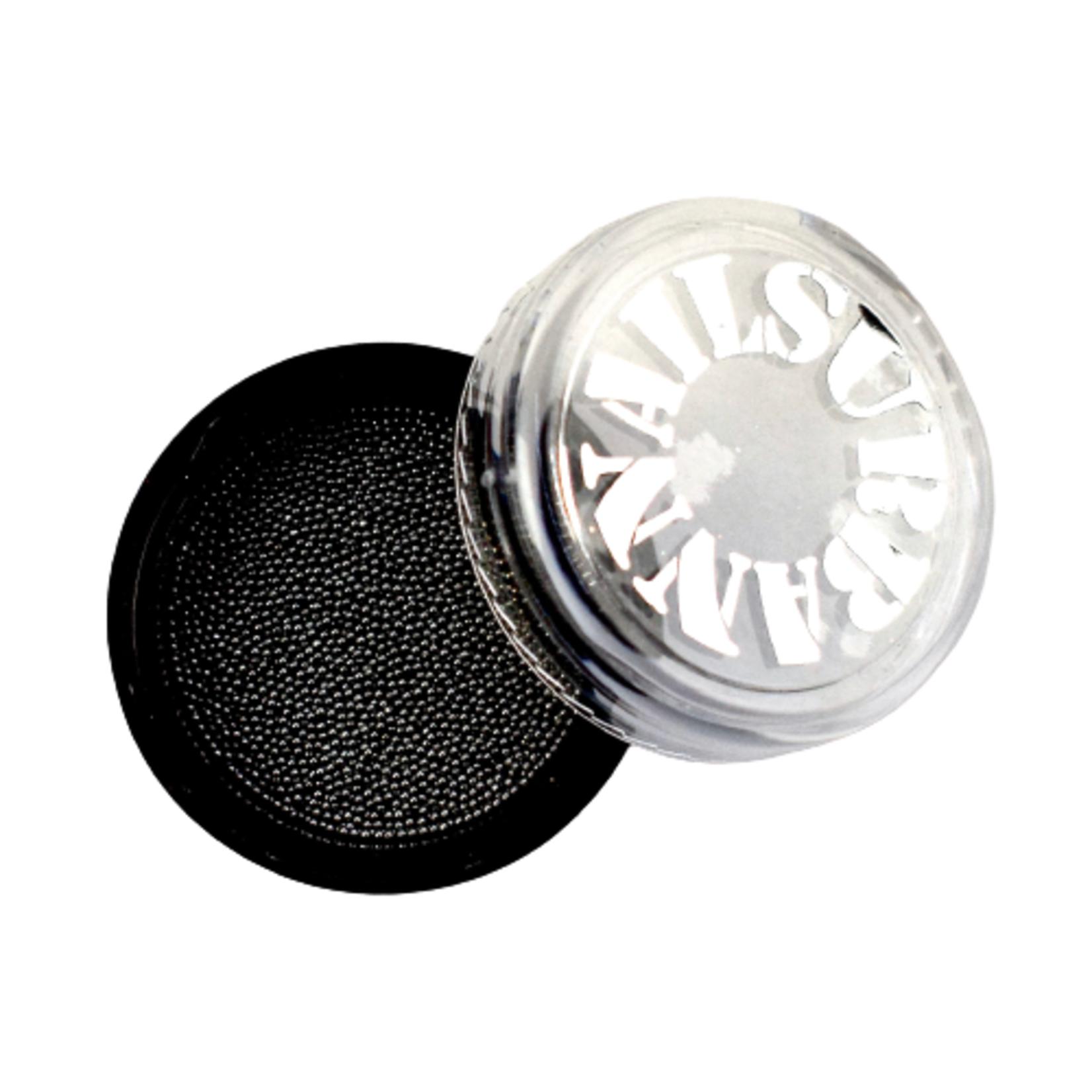 Urban Nails Caviar Beads Gun Metal Black 0.6