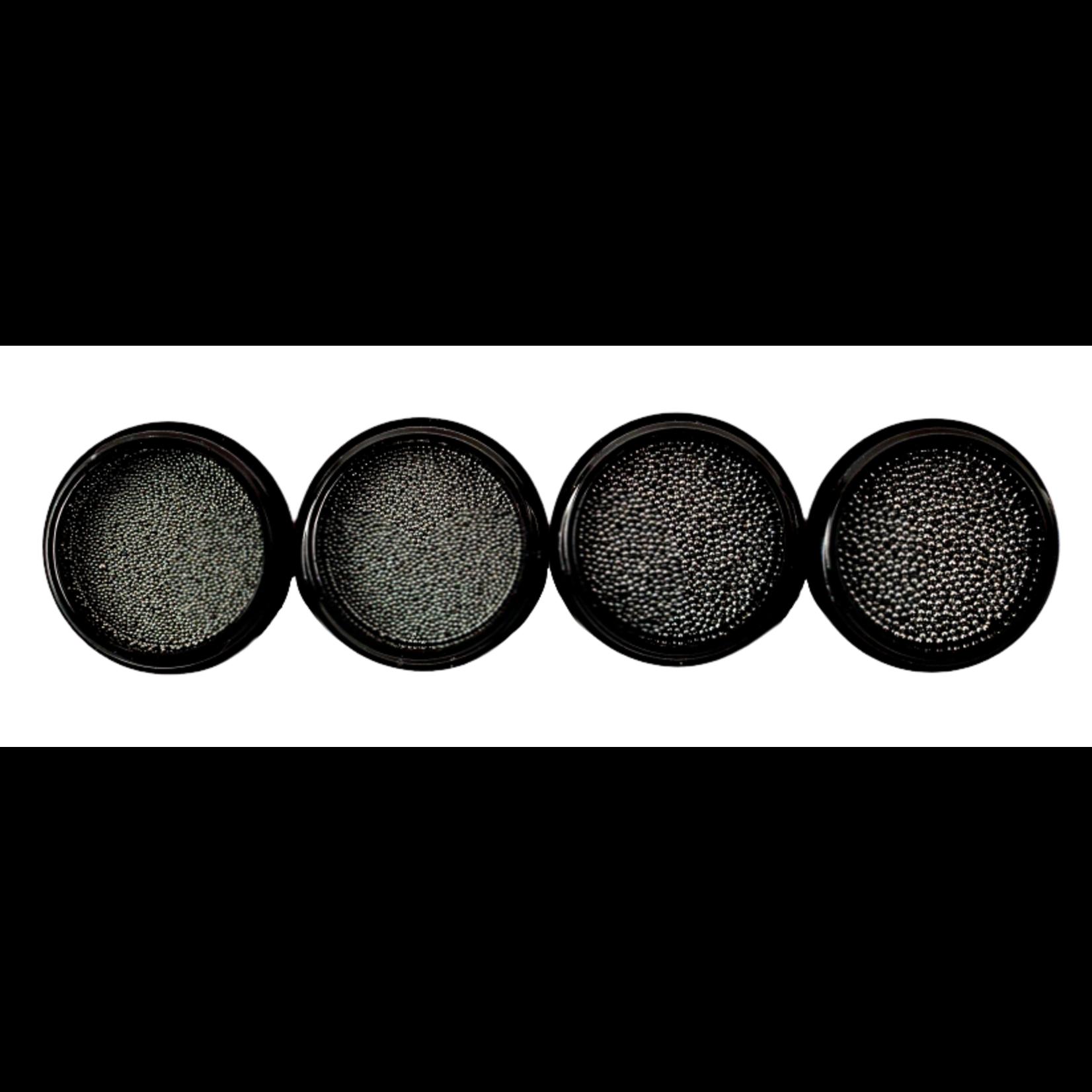 Urban Nails Caviar Beads Gun Metal Black 0.8
