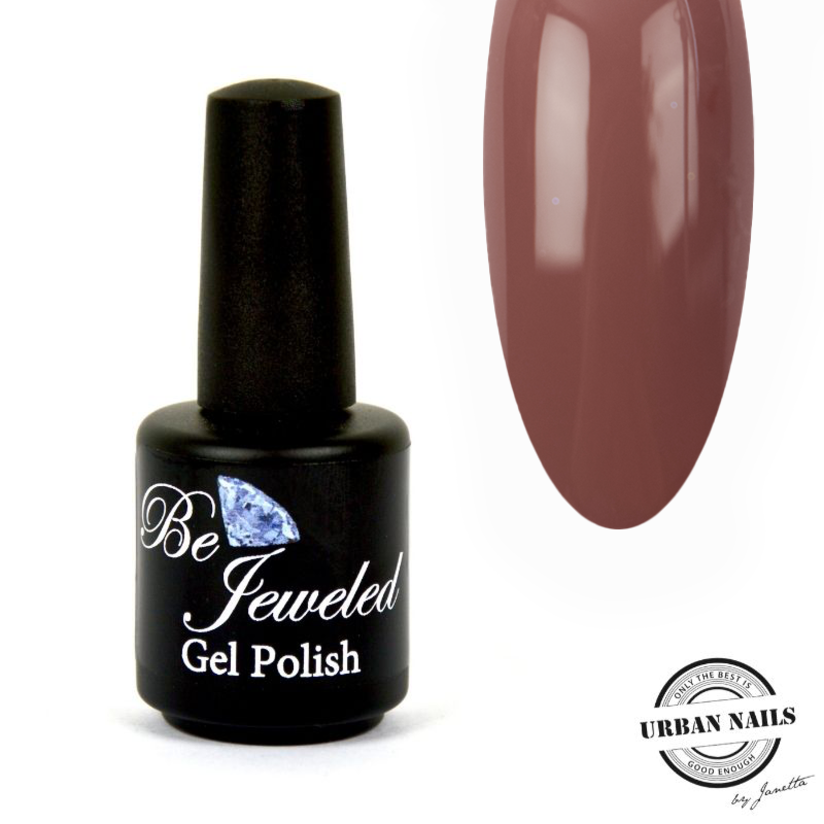 Urban Nails Be Jeweled Gelpolish 51 Donker Nude Bruin