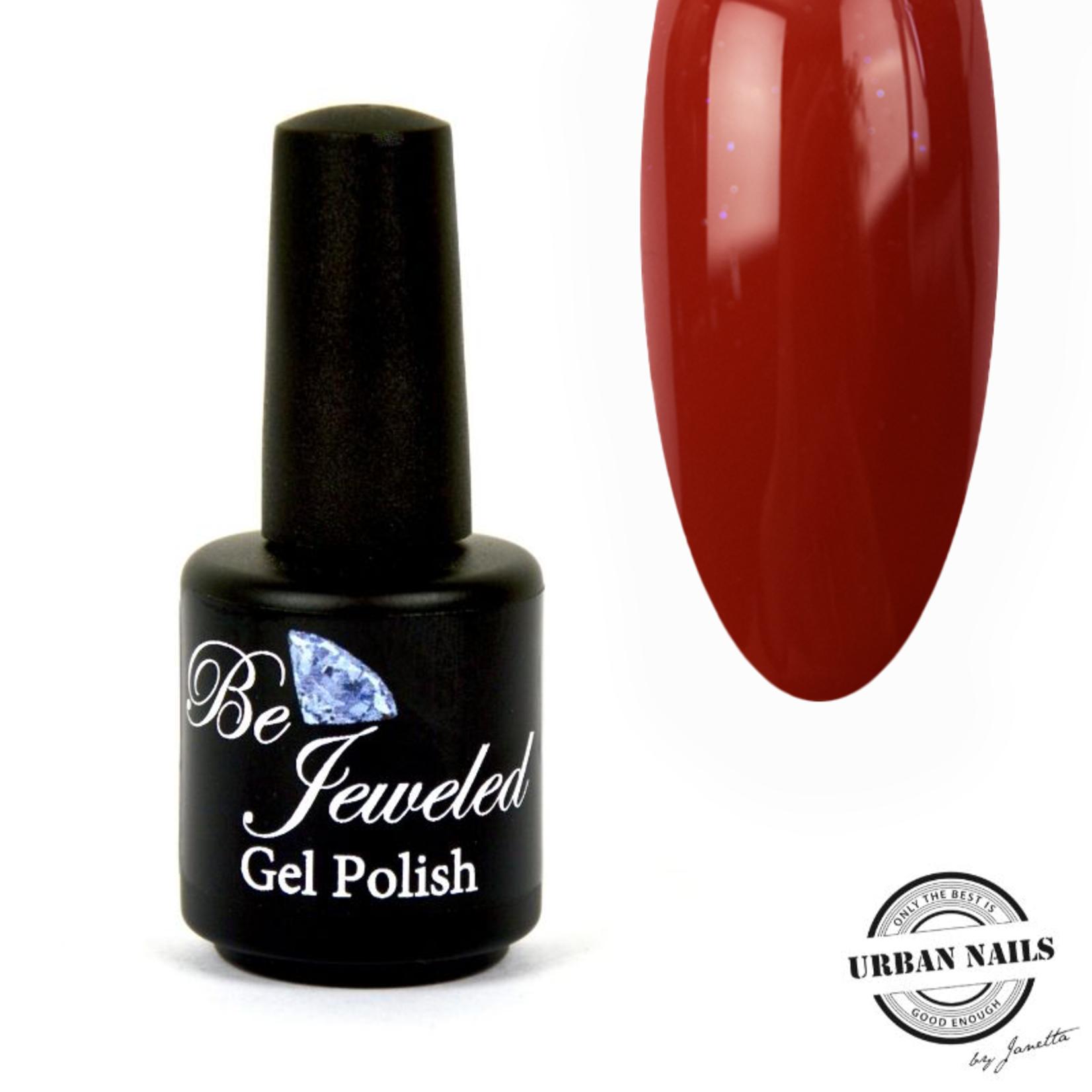 Urban Nails Be Jeweled Gelpolish 112 Bruin Rood