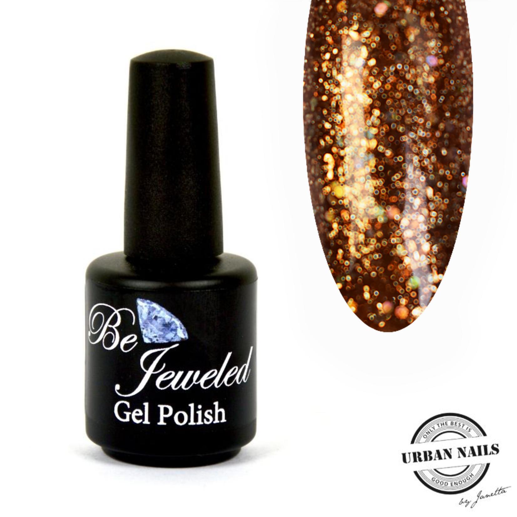 Urban Nails Be Jeweled Gelpolish 100 Koper Glitter