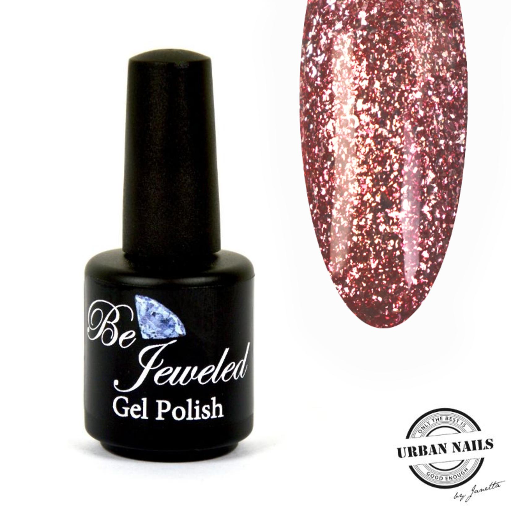 Urban Nails Be Jeweled Gelpolish 102 Roze Glitter