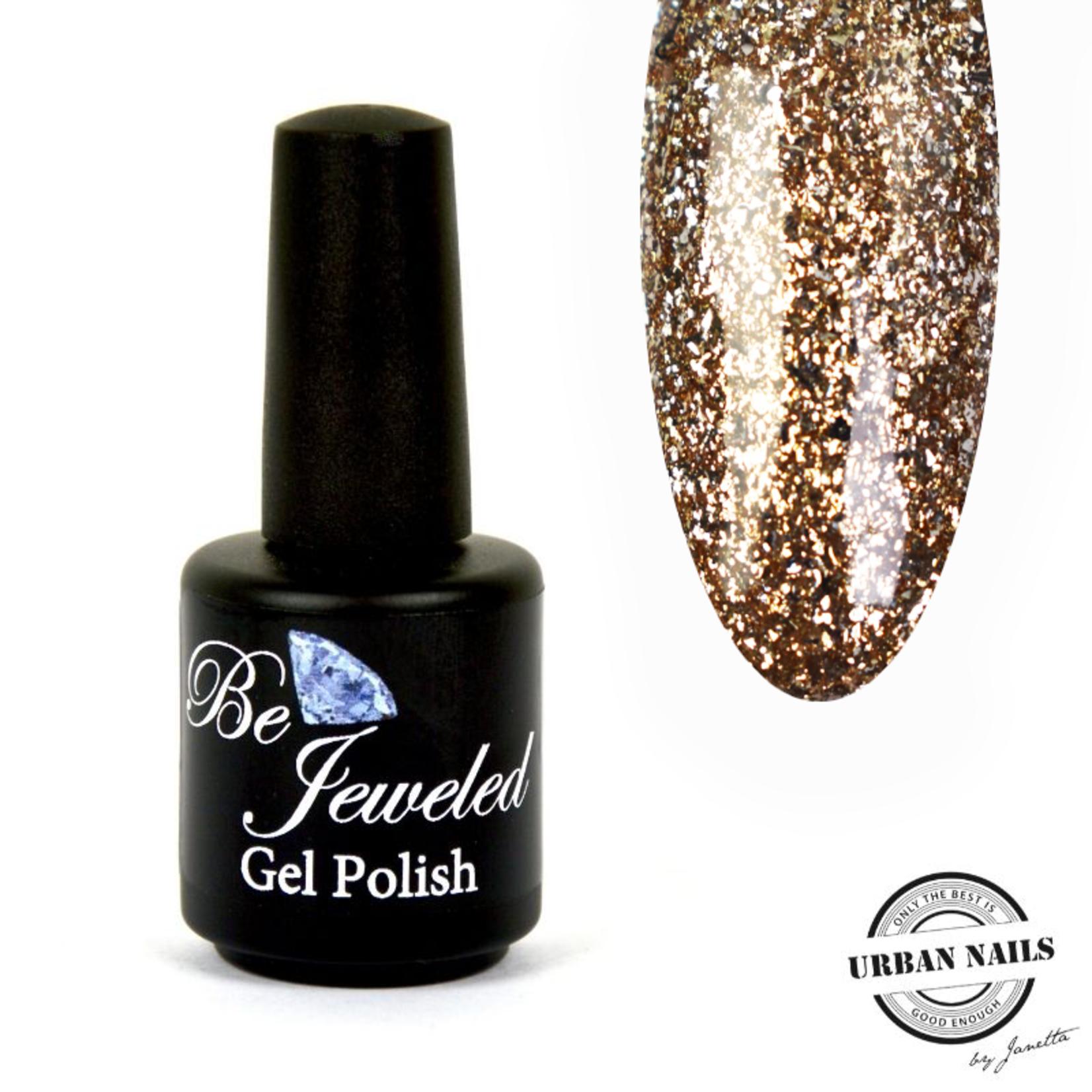 Urban Nails Be Jeweled Gelpolish 103 Champagne Goud Glitter