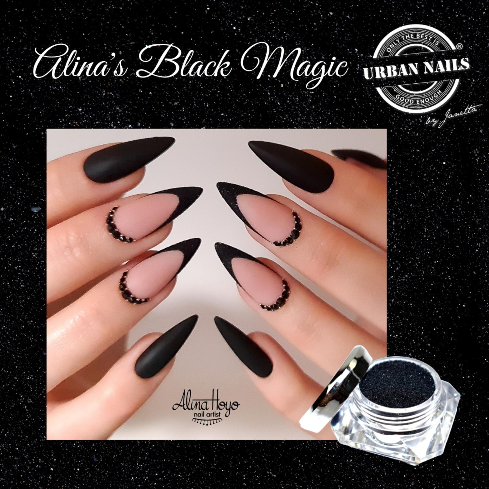 Urban Nails Alina's Black Magic