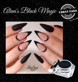 Urban Nails Alina's Black Magic