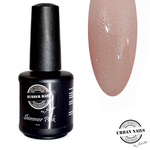 Urban Nails Rubber Base Shimmer Pink Silver