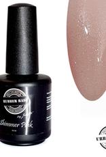 Urban Nails Rubber Base Shimmer Pink Silver
